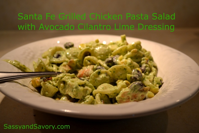Santa Fe Grilled Chicken Pasta Salad