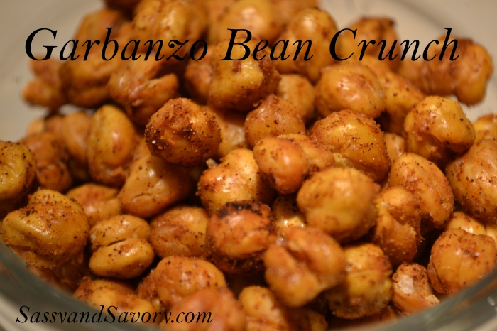 Edited Garbanzo Bean Crunch
